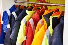 Revestimentos para o workwear imagens de stock