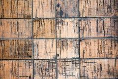 Revestimiento de cerámica negro y marrón para el fondo 1 Fotos de archivo