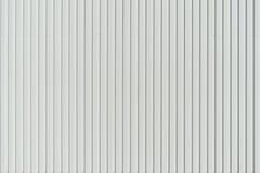 Revestimiento de madera blanco de la pared Fotografía de archivo