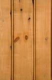 Revestimiento de madera de madera Foto de archivo libre de regalías