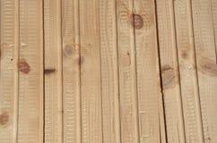 Revestimiento de madera de madera Imagen de archivo libre de regalías