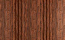 Revestimiento de madera de madera oscuro Foto de archivo libre de regalías