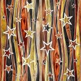 Revestimiento de madera decorativo abstracto - fondo inconsútil libre illustration