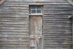 Revestimiento de madera resistido Foto de archivo libre de regalías