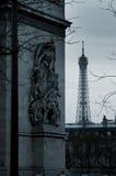 Revestimiento de París Imágenes de archivo libres de regalías
