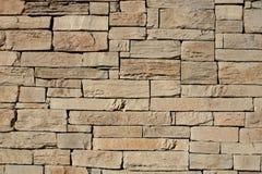 Revestimiento de piedra exterior Fotografía de archivo libre de regalías