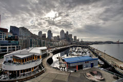 Revestimiento en Seattle Imagen de archivo libre de regalías
