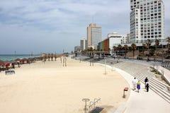 Revestimiento en Tel Aviv Imagen de archivo libre de regalías