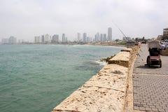 Revestimiento en Tel Aviv Fotografía de archivo libre de regalías