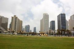 Revestimiento en Tel Aviv Foto de archivo libre de regalías