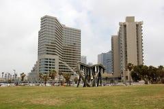 Revestimiento en Tel Aviv Imagenes de archivo
