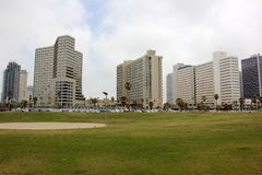 Revestimiento en Tel Aviv Fotografía de archivo