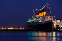 Revestimiento marino de Queen Mary Foto de archivo libre de regalías