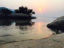 Revew Laos di Rever fotografia stock libera da diritti