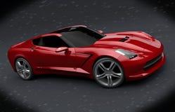 Revidering för Chevrolet stingrocka 2013 royaltyfria foton