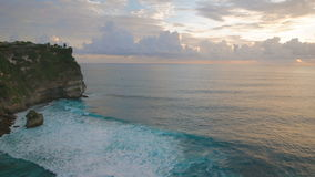 Review of Bali and the Indian Ocean islands. Sun all year round, the unique nature of the bay with turquoise water and a stock footage