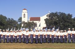 Review of Cadets Royalty Free Stock Photo