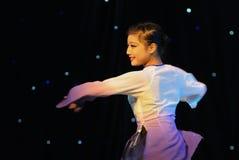 Review-Folk dance Stock Photo