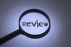 Review Royalty Free Stock Image