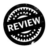 Review rubber stamp Royalty Free Stock Photos