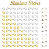 Review stars Stock Photography