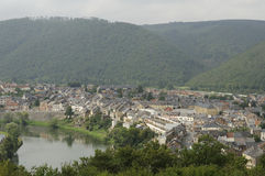 Revin and meuse, ardennes Stock Photography