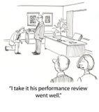 Revisão de desempenho Imagem de Stock