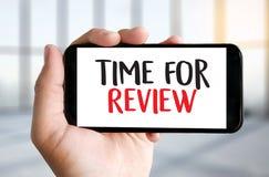 revise el concepto del negocio del tiempo, hora para el comentario, equipo h del negocio imagen de archivo libre de regalías