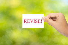 Revise Royalty Free Stock Images