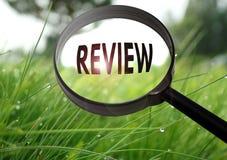 revisión Imágenes de archivo libres de regalías