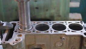 Revisión de un motor de coche metrajes