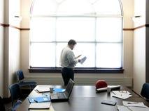 Revisión en la reunión Foto de archivo