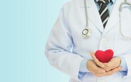 Revisión médica del corazón Foto de archivo