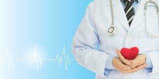 Revisión médica del corazón Imagen de archivo
