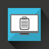Revisión médica médica en línea Foto de archivo