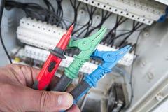 Revision elektrisch stockbilder