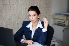 Revisor som i regeringsställning beräknar skatter Arkivbild
