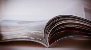 Revista fotografía de archivo