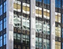Revitalisation le long d'avenue de Woodward à Detroit Images stock