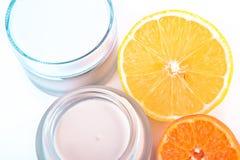 Revitalizing cream Royalty Free Stock Image