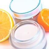 Revitalizing cream Stock Image