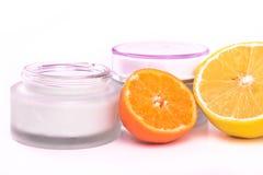 Revitalizing cream Stock Photos