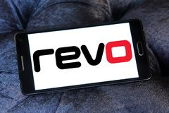 Revo公司商标 库存照片