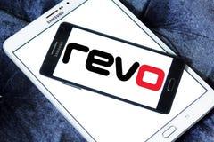 Revo公司商标 免版税库存照片