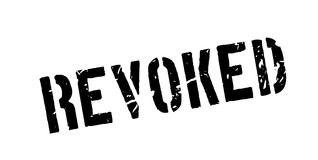 Revoked rubber stamp Stock Image