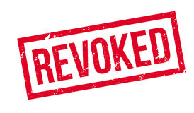 Revoked rubber stamp Royalty Free Stock Images