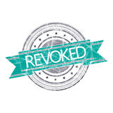 Revoked stamp Royalty Free Stock Image