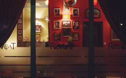 Revolt Cafe Stock Photography