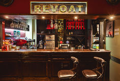 Revolt Cafe Royalty Free Stock Images