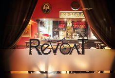 Revolt Cafe Stock Images